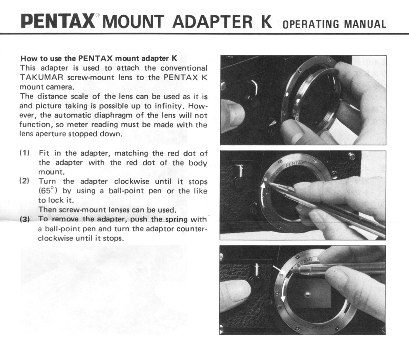 Adapter Manual